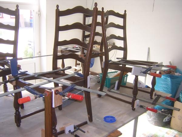 polster raum frank gr nler pflege und reparatur von holz und leder. Black Bedroom Furniture Sets. Home Design Ideas